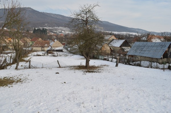 Naša záhrada v zime