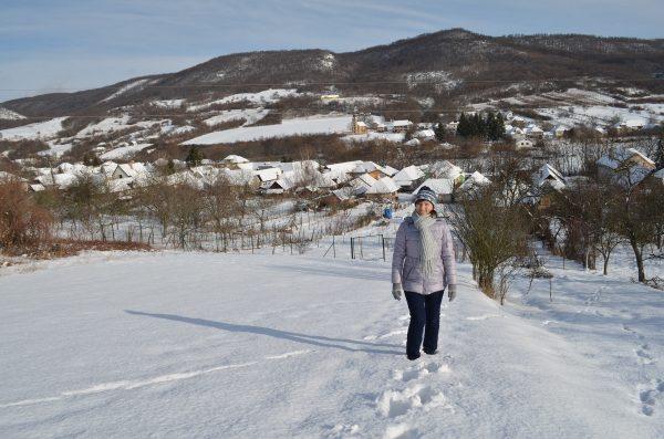 výhľad do dediny