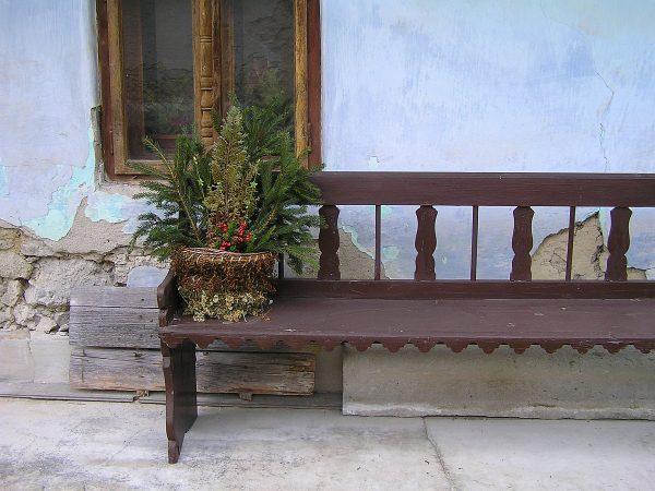 Košík z byliniek