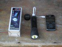 solárna nabíčka a baterka