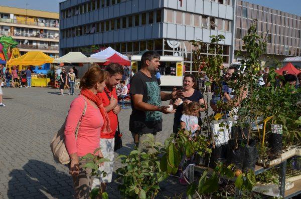 Andrej Danek so svojimi rastlinami